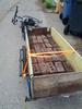 62 bricks in the bike trailer